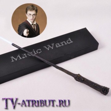 Светящаяся палочка Гарри Поттера, в коробочке
