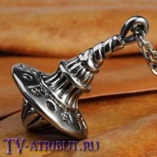 Кулон в виде волчка-тотема Кобба, высококачественная сталь