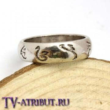 Кольцо с рунами Сумеречных охотников