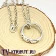 Кулон-кольцо с рунами Сумеречных охотников