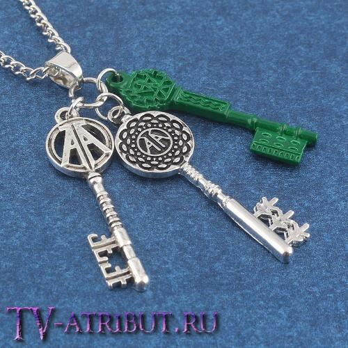 Кулон с тремя ключами