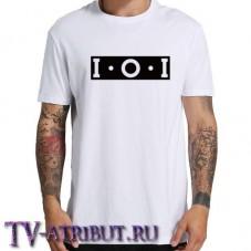 """Футболка """"IOI"""" (цвета - чёрный и белый)"""