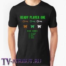 Футболка с тремя ключами