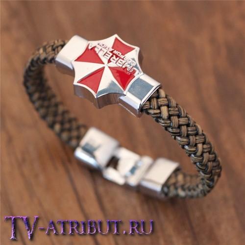 """Браслет с эмблемой корпорации """"Umbrella"""""""