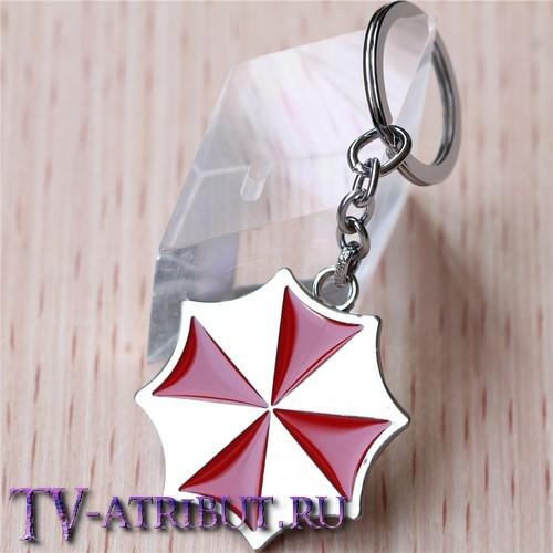 """Брелок с эмблемой корпорации """"Umbrella"""""""