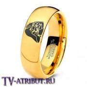 Кольцо с Дартом Вейдером, карбид вольфрама, позолота 18 карат