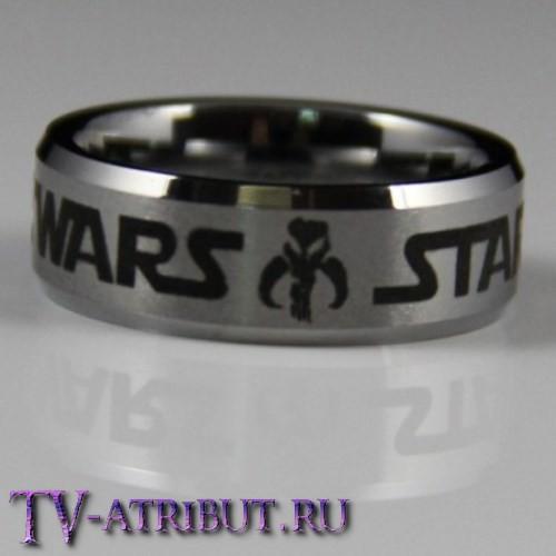 Кольцо со знаком Империи ситхов и Мандалориан
