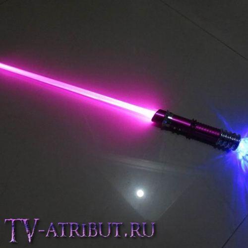 Световой меч со светящейся ручкой (62 см, 7 вариантов цветов)