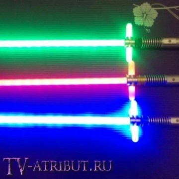 Световой меч Кайло Рена (67 см, цвета - красный, зеленый, голубой)