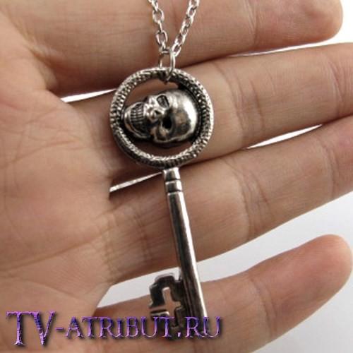 Комплект из кулонов: кинжал Румпельштильцхена и ключ Реджины
