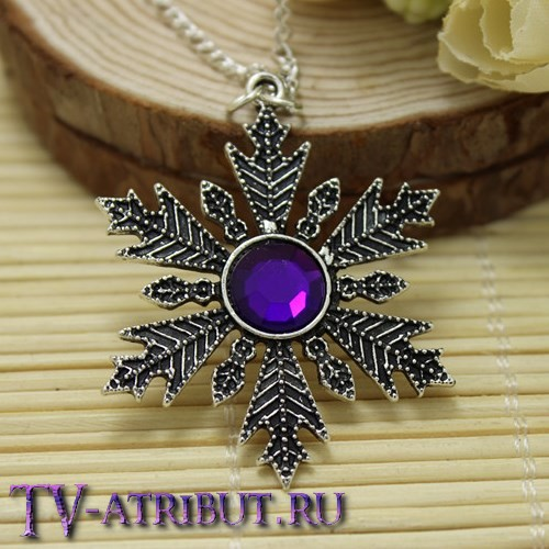 Кулон Анны, 5 разных цветов кристалла
