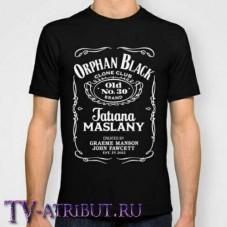 """Футболка """"Orphan Black Tatiana Maslany"""""""