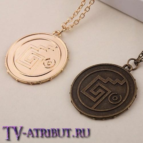 """Кулон """"Золото Ацтеков"""" (3 цвета)"""