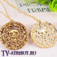 Кулон Ацтеков резной (цвета - золото, бронза)