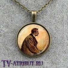 Кулон с изображением Шерлока Холмса