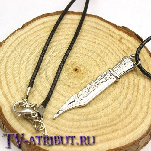 Кулон в виде ножа Руби, убивающего демонов