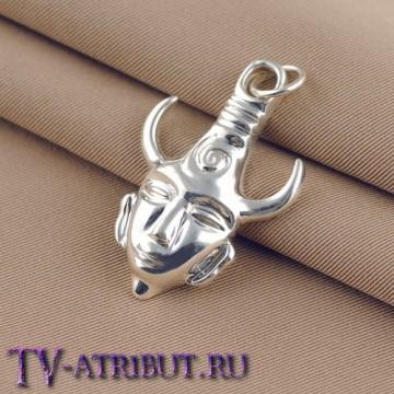 "Кулон ""Амулет Дина Винчестера"", серебро 925 пробы"
