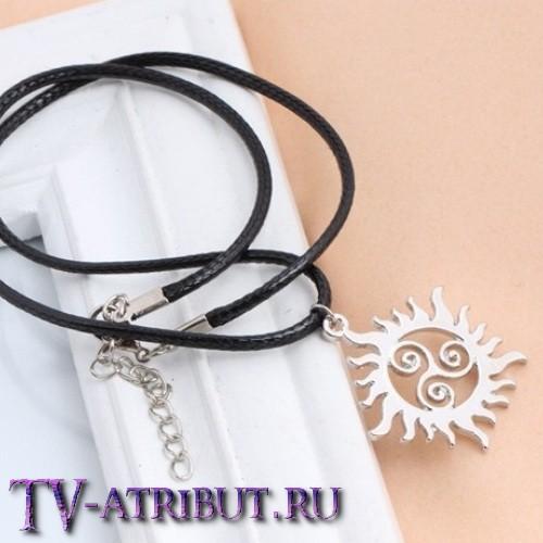 """Кулон мультифандом сериалов """"Волчонок"""" и """"Сверхъестественное"""""""