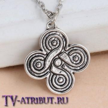 Кулон в виде символа друидов