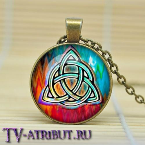 Кулон с изображением знака триединства