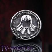 Кольцо с символом Безликих, сталь