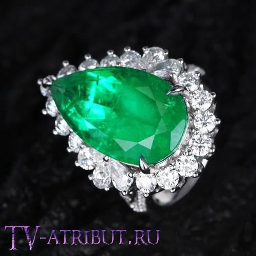 Кольцо Хюррем Султан, серебро 925 пробы
