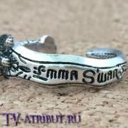 Кольцо в виде кинжала Тёмной Эммы Свон