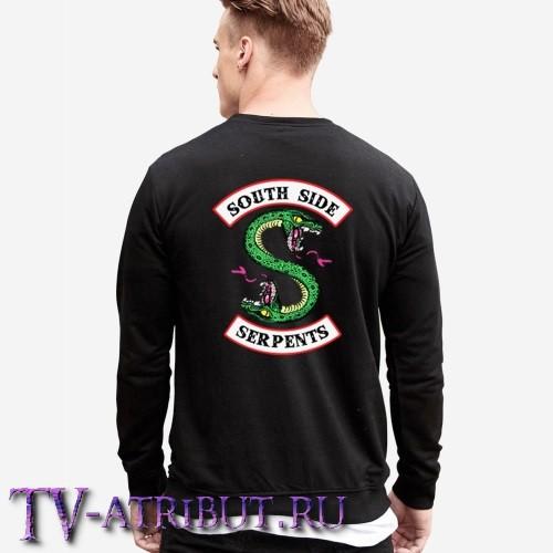 Джемпер с надписью Riverdale и эмблемой Змей Саутсайда на спине (3 цвета)