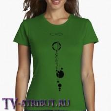 """Женская футболка """"Татуировка Лексы"""" (3 цвета)"""