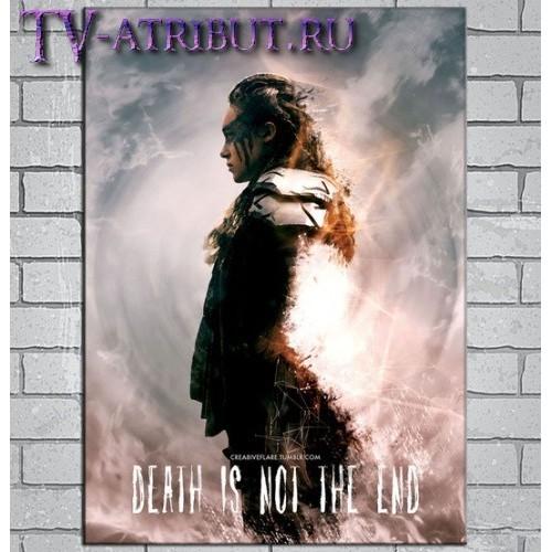 """Постер на холсте """"Смерть - это ещё не конец"""""""