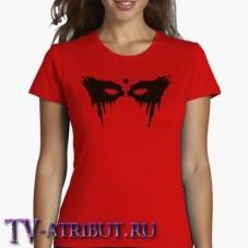 "Женская футболка ""Боевая раскраска Лексы"" (3 цвета)"