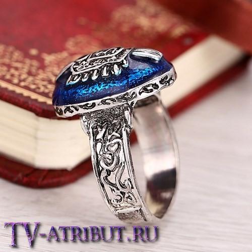 Кольцо Стефана Сальваторе с перламутровым камнем