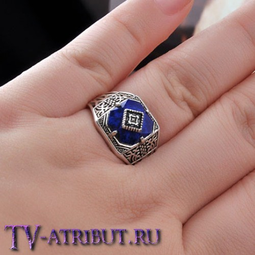 Кольцо Кэролайн Форбс, серебро 925 пробы
