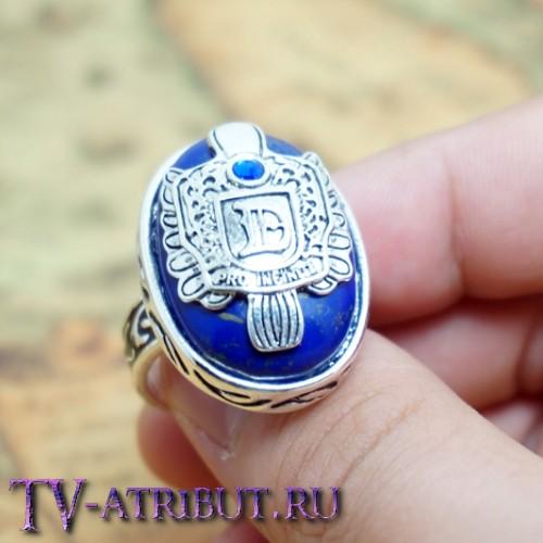 Кольцо Деймона, или Стефана, посеребренное, официальная версия