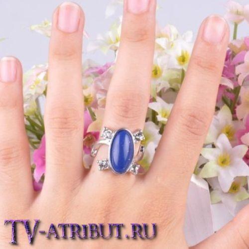 Кольцо Елены Гилберт с лазуритом