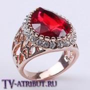 "Кольцо ""Любовь к Султану"" (3 разных цвета камня)"